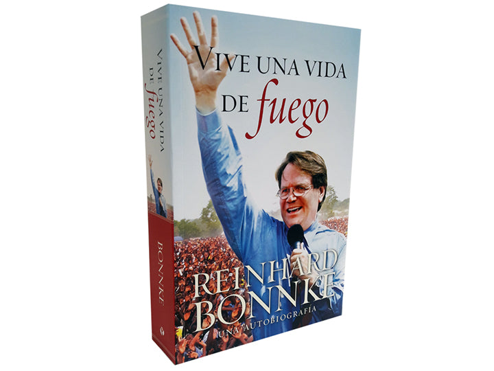 Vive Una Vida de Fuego - Christ For All Nations Store - Christian Products