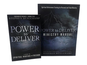 Power to Deliver Book + Power to Deliver Ministry Manual - Christ For All Nations Store - Christian Products