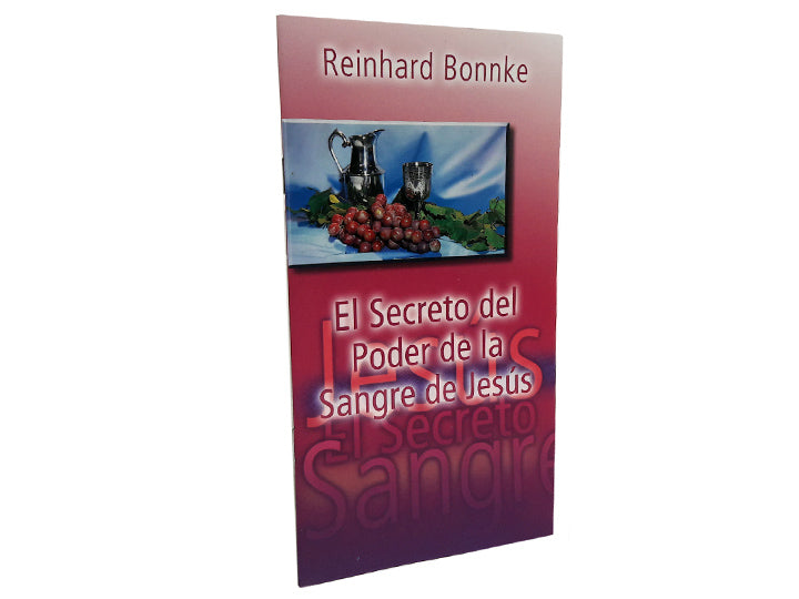 El Secreto del Poder de la Sangre de Jesús - Christ For All Nations Store - Christian Products