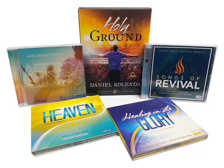 The Worship Bundle - Christ For All Nations Store - Christian Products