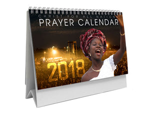 2018 Desktop Prayer Calendar
