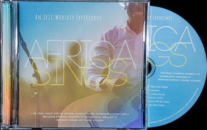 Africa Sings Worship (CD) - Christ For All Nations Store - Christian Products