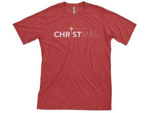 Merry Christmas (T-shirt) - Christ For All Nations Store - Christian Products