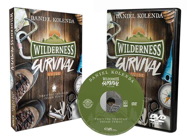 Wilderness Survival Guide (Book and DVD Combo) - Christ For All Nations Store - Christian Products