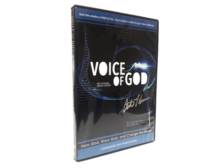 Voice of God DVD - Christ For All Nations Store - Christian Products