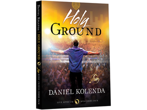 Holy Ground: CD and DVD Set - Christ For All Nations Store - Christian Products