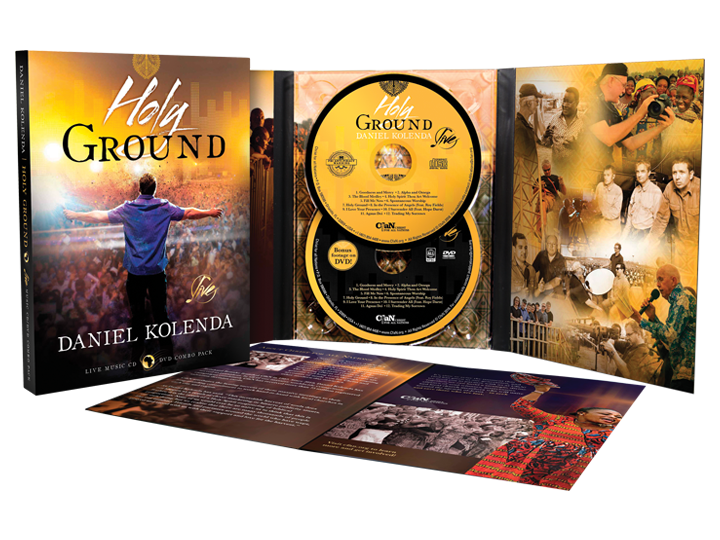 Holy Ground (CD and DVD Set)