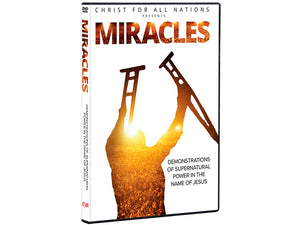 Miracles (DVD) - Christ For All Nations Store - Christian Products