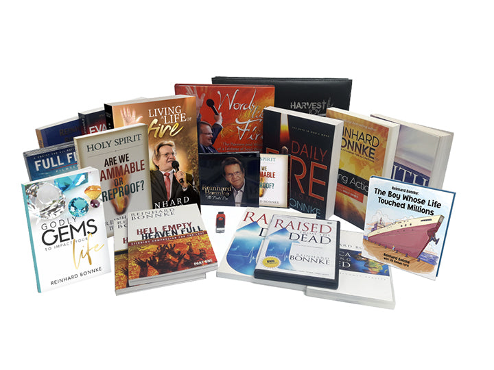 The Bonnke Bundle - Christ For All Nations Store - Christian Products