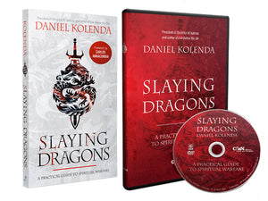Slaying Dragons Book & DVD Bundle - Christ For All Nations Store - Christian Products