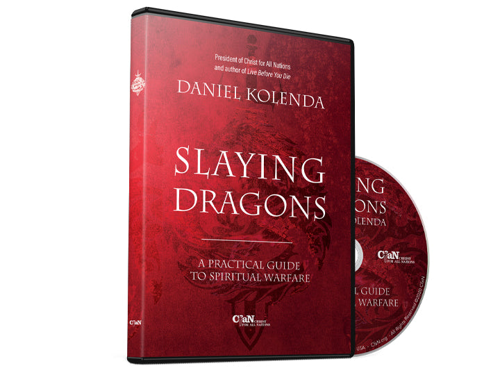 Slaying Dragons Teaching DVD - Christ For All Nations Store - Christian Products