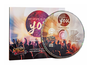 My Hope is in You (LIVE) Worship CD - Christ For All Nations Store - Christian Products
