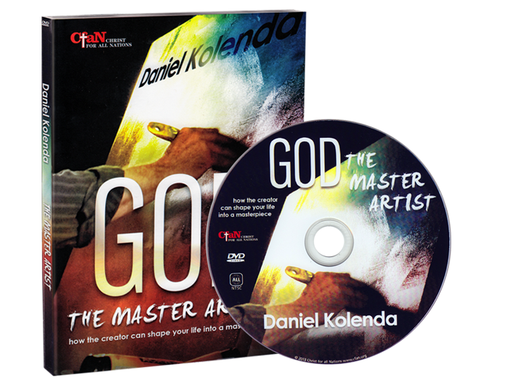 God The Master Artist (DVD) - Christ For All Nations Store - Christian Products