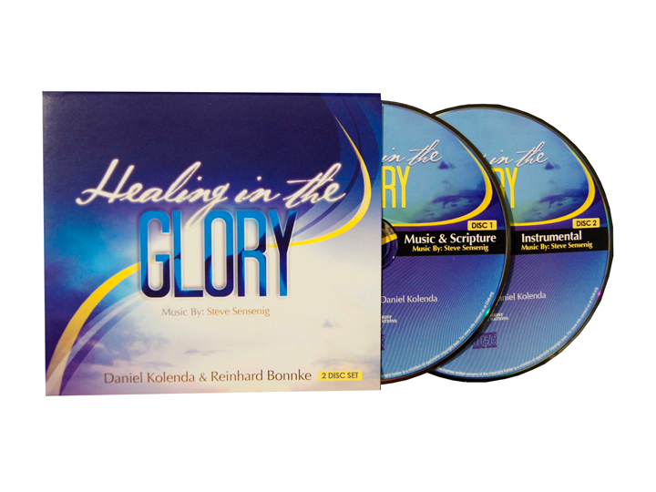 Healing in the Glory (CD) - 2 PACK OFFER - Christ For All Nations Store - Christian Products