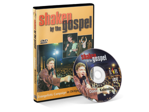 Shaken by the Gospel (DVD) - Christ For All Nations Store - Christian Products