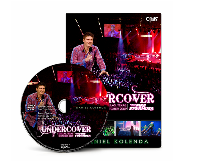 Daniel Kolenda - Undercover from FireStorm USA (DVD) - Christ For All Nations Store - Christian Products