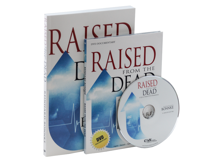 Raised From The Dead (Book) & (DVD) Pack - Christ For All Nations Store - Christian Products