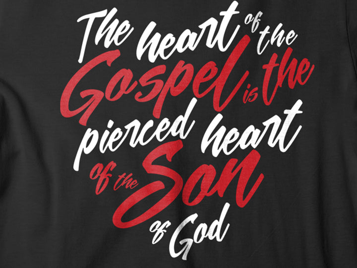 Heart of the Gospel (Ladies' T-shirt) - Christ For All Nations Store - Christian Products
