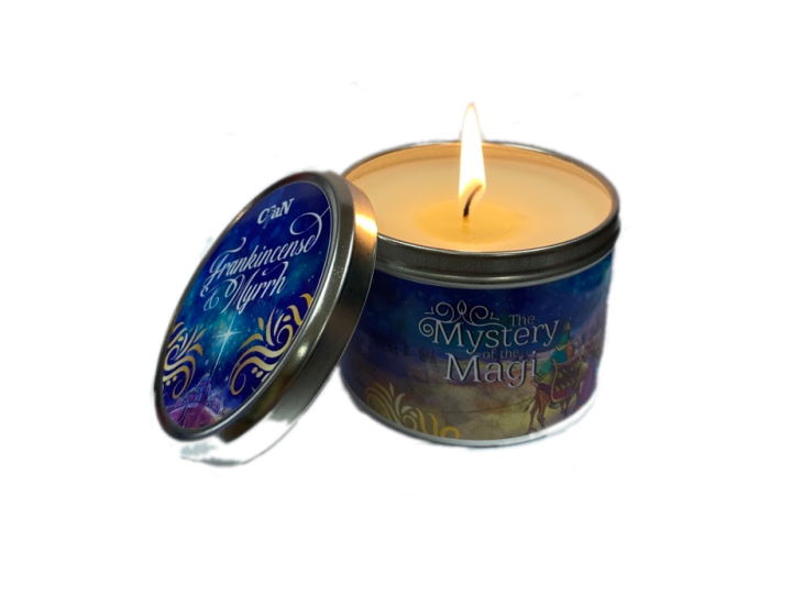Mystery of the Magi Candle - Christ For All Nations Store - Christian Products