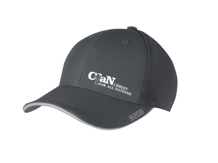 CfaN Grey Cap - Christ For All Nations Store - Christian Products