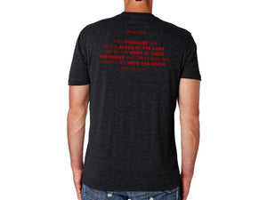 Nazarene (Tshirt, Heather Black) - Christ For All Nations Store - Christian Products