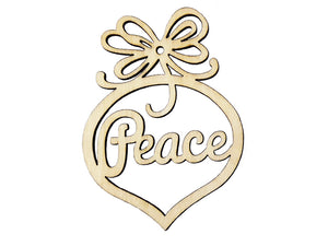 """Peace"" Christmas Ornament - Christ For All Nations Store - Christian Products"