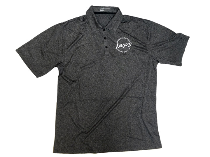 Official Lagos Crusade (Men's Polo Shirt) - Christ For All Nations Store - Christian Products