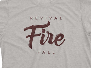 Revival Fire (T-shirt, Grey)