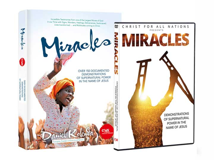 Miracles (Book and DVD) - Christ For All Nations Store - Christian Products