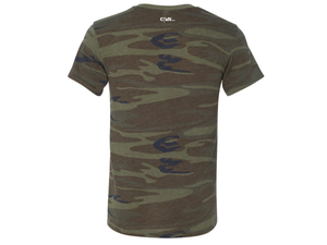 America Shall Be Saved (T-shirt, Camo) - Christ For All Nations Store - Christian Products