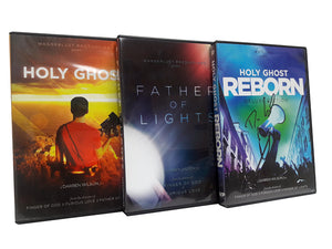 Holy Ghost Reborn (Deluxe) + Father of Lights + Holy Ghost - Christ For All Nations Store - Christian Products