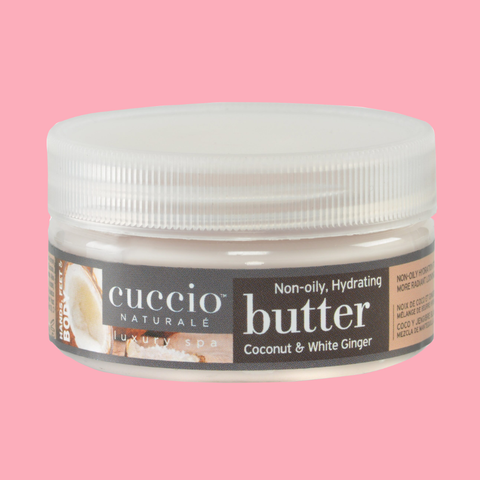 Cuccio Coconut & White Ginger Baby Butter