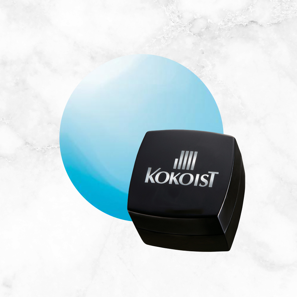Kokoist Colour Gel - Waikiki Blue Beach Glass E-135
