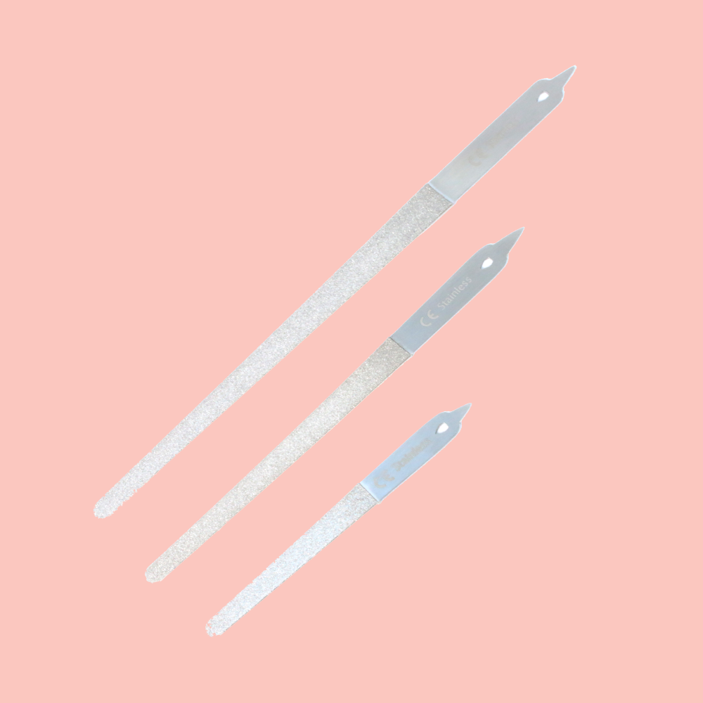 Diamond Debris Diamondeb Pointed Nail Files