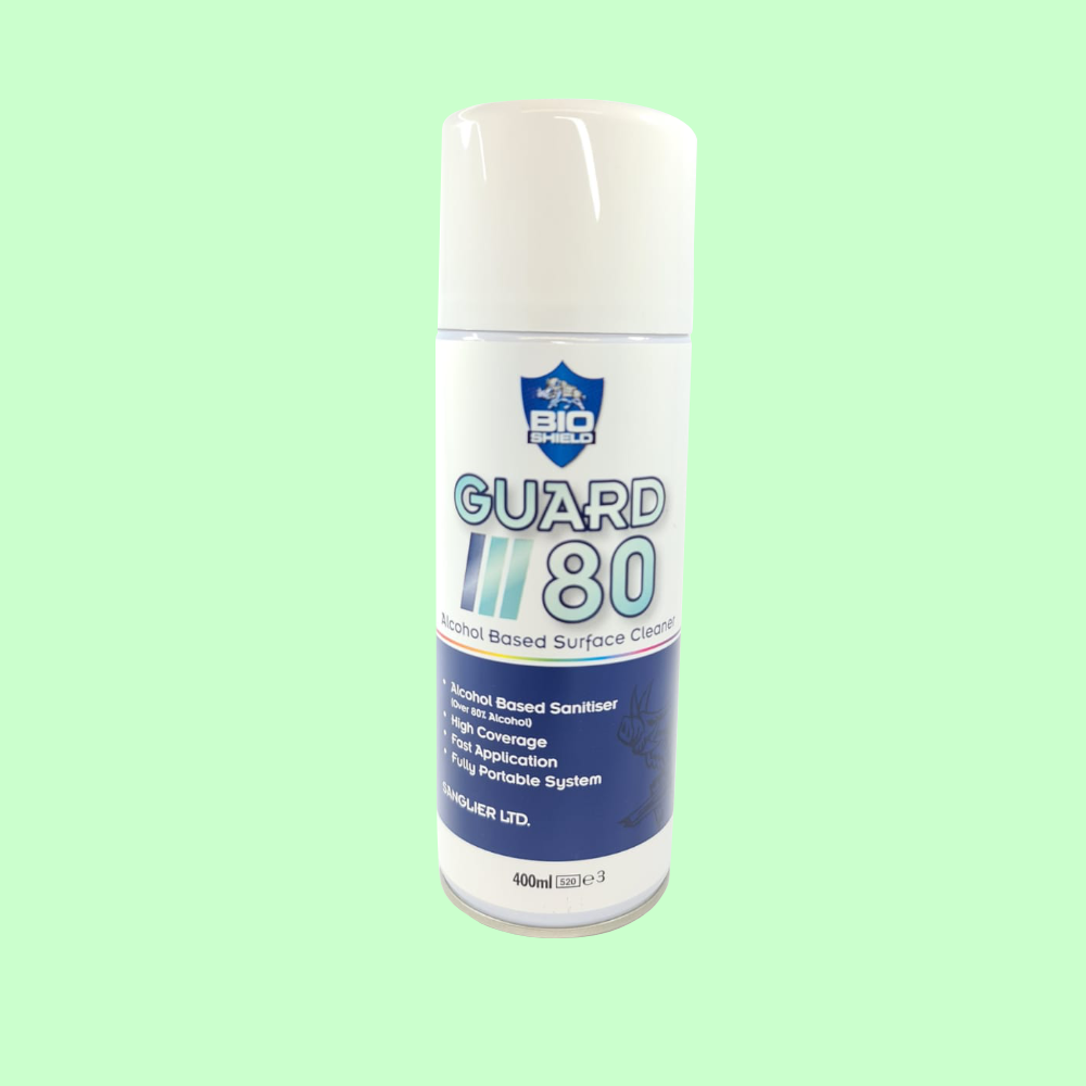 Guard 80 Alcohol Based Surface Cleaner - 500ml
