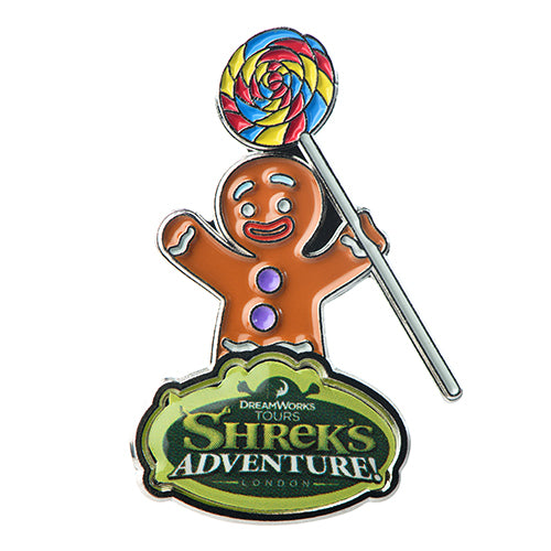 Gingy Lollipop Pin Badge