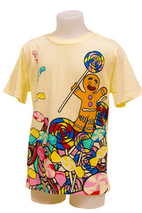 Gingy Yellow Gumdrop Kids T-shirts