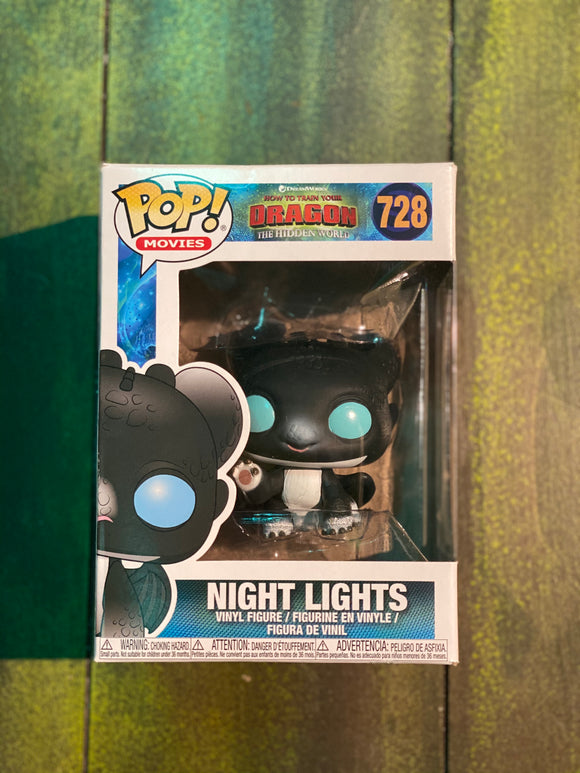 HTTYD Nightlights Dart POP! Funko Figure