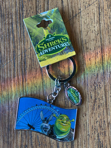 Shrek Metallic London Keyring