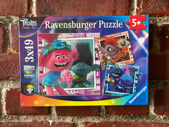 Trolls 2 Puzzle (3 x 49 pieces)