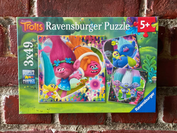 Trolls Puzzle (3x49 pieces)