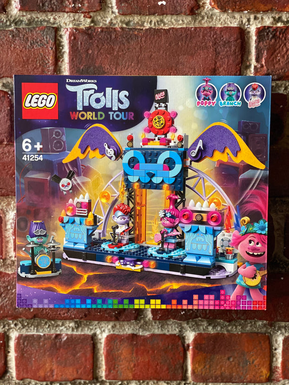 LEGO Trolls Volcano Rock City: Concert Playset (41254)