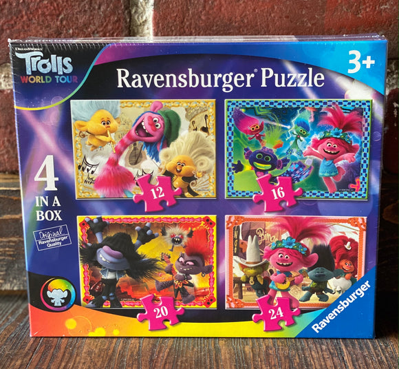 Trolls 2 - 4 In A Box Puzzle