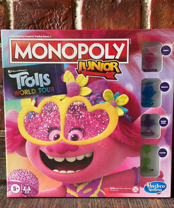 Trolls 2 Junior Monopoly