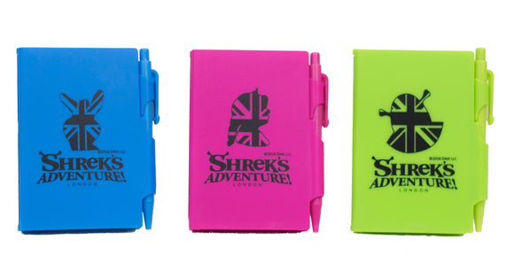 Shrek Character Mini Notebook