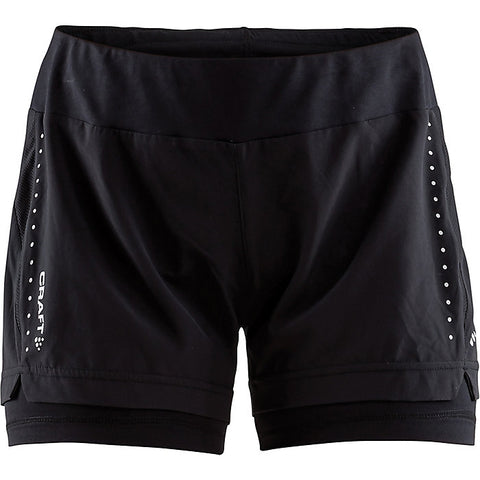 Craft Sportswear Essential 2 in 1 Women's Short