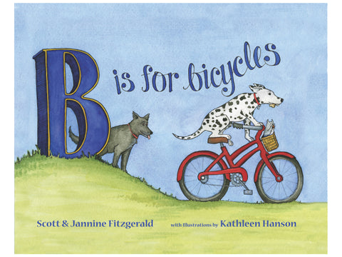 B is for Bicycle Book