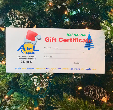 $25 Christmas Gift Certificate