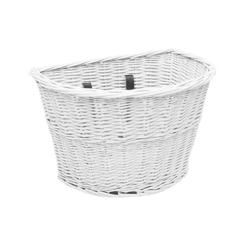 Electra Cruiser Wicker Whitet Basket