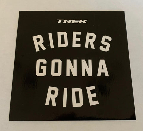 Riders Gonna Sticker